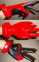 Asuka plugsuit gloves WIP by nyunyucosplay