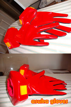 Asuka plugsuit gloves WIP #2