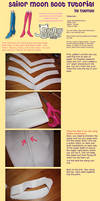 Sailormoon Boot Trim Tutorial