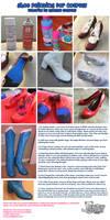 Shoe Paint Tutorial by NyuNyu