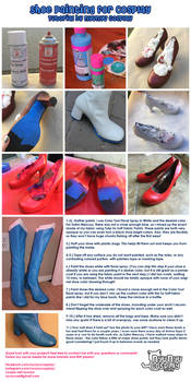 Shoe Paint Tutorial by NyuNyu