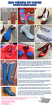 Shoe Paint Tutorial by NyuNyu by nyunyucosplay