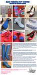 Shoe Paint Tutorial by NyuNyu by nyunyucosplay