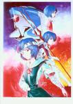 Ayanami Rei-Poster Illust