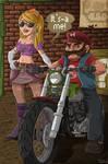 Biker Mario