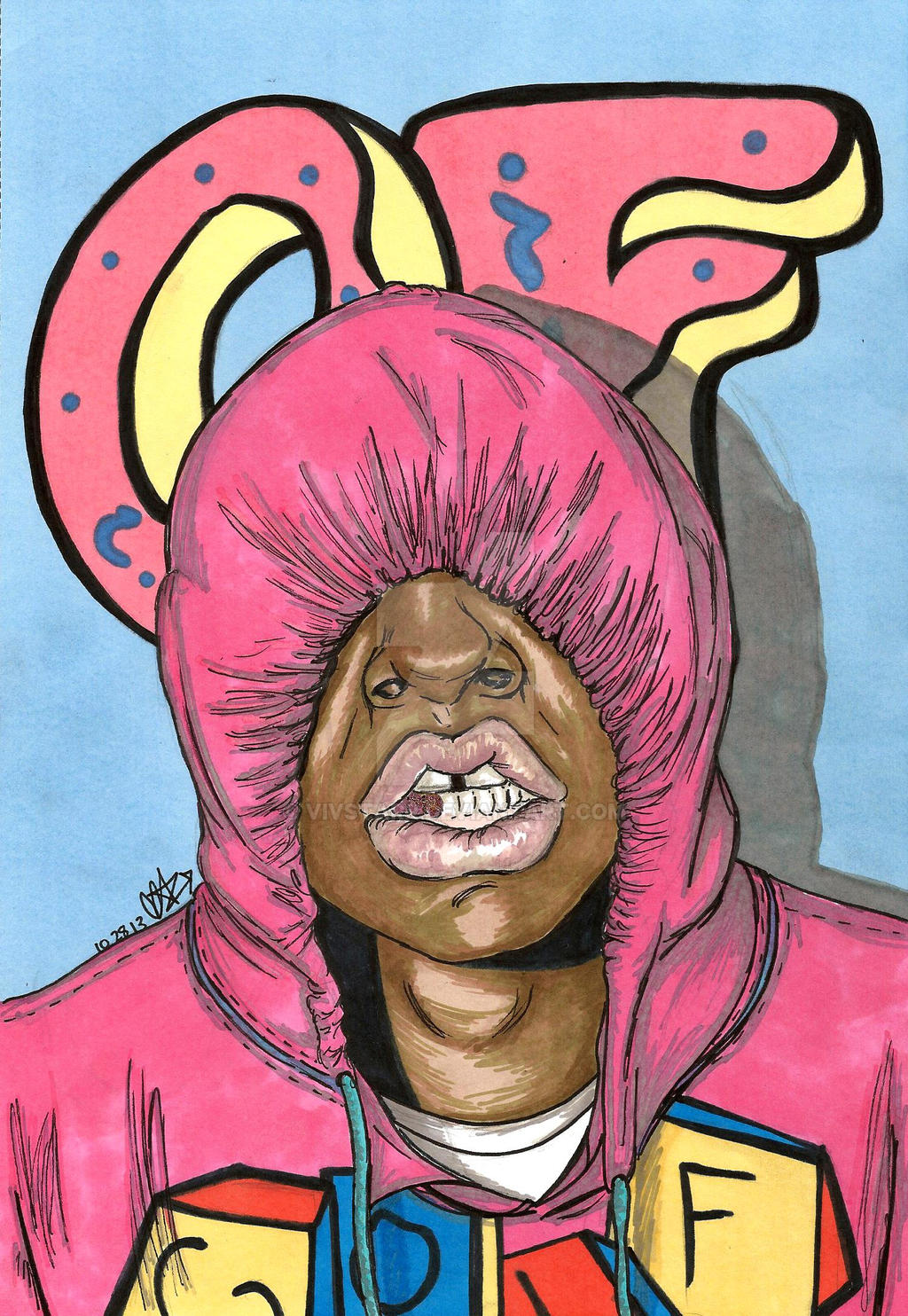 Goblin Tyler The Creator Wallpaper