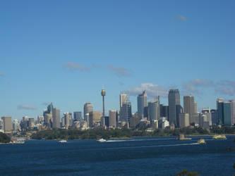 Sydney skyline by ElvenSheepStock