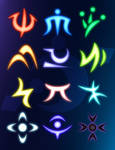 Element Magic Symbols
