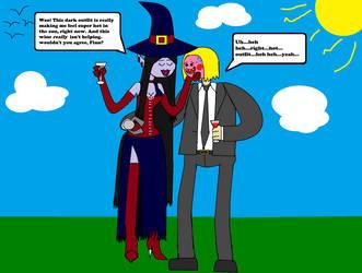 Flirting Time #2 (Disgruntled Fanonverse) by DSU42