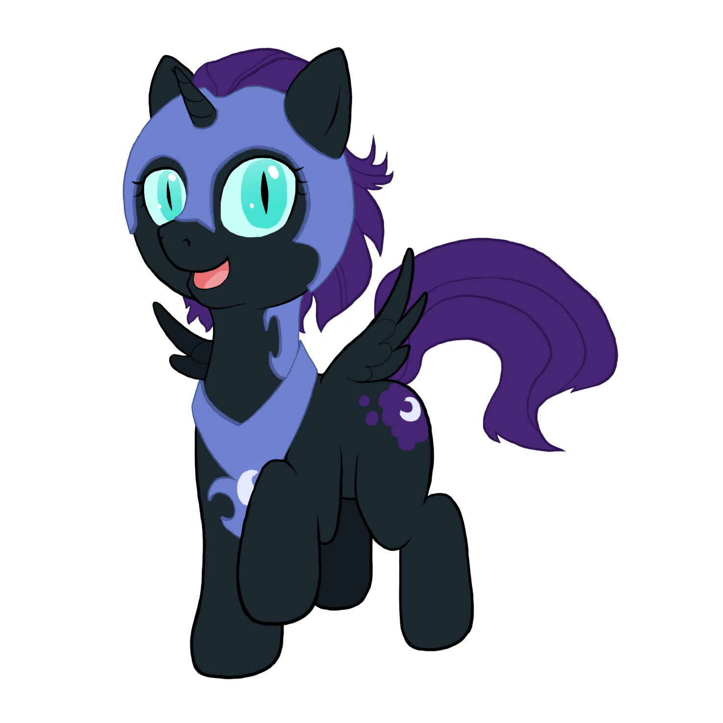 Nyxmare Moon by Poniker