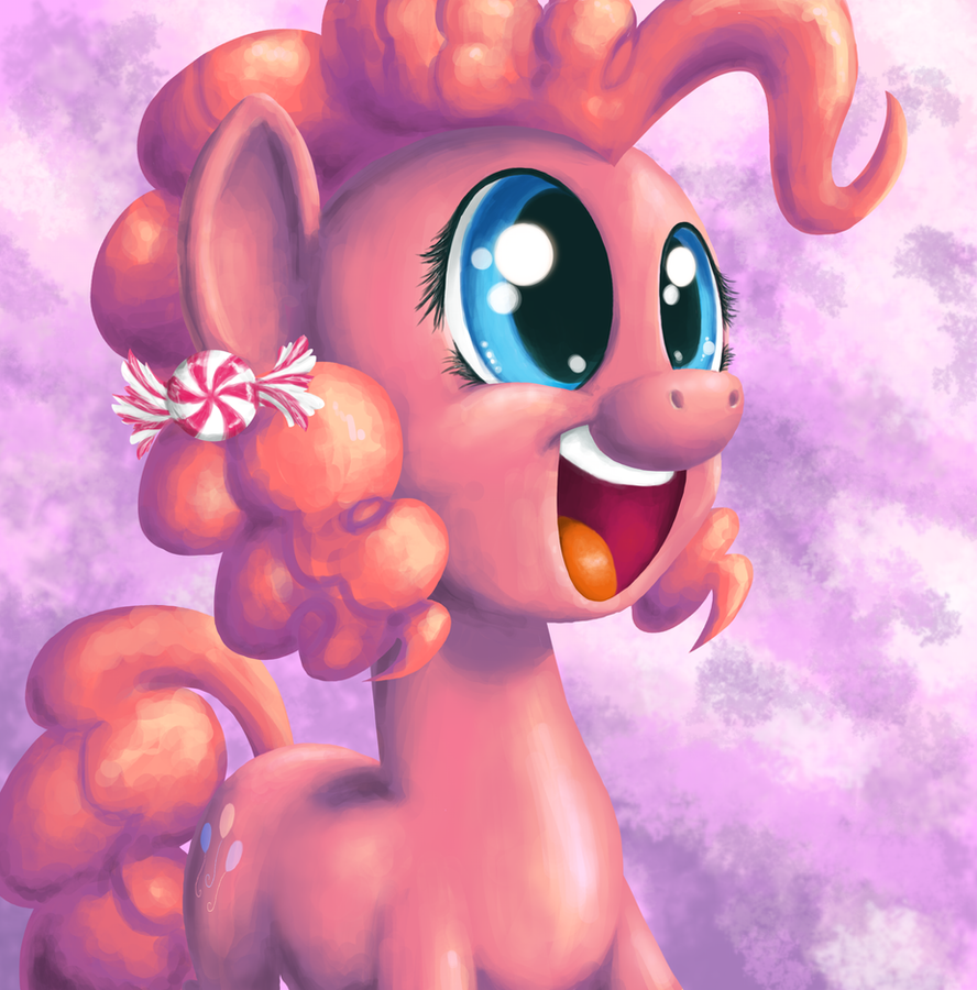 Pinkie Portrait by Poniker