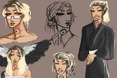 [Sukina-Yo-Ni] Some Sketches! by TrashcanDad