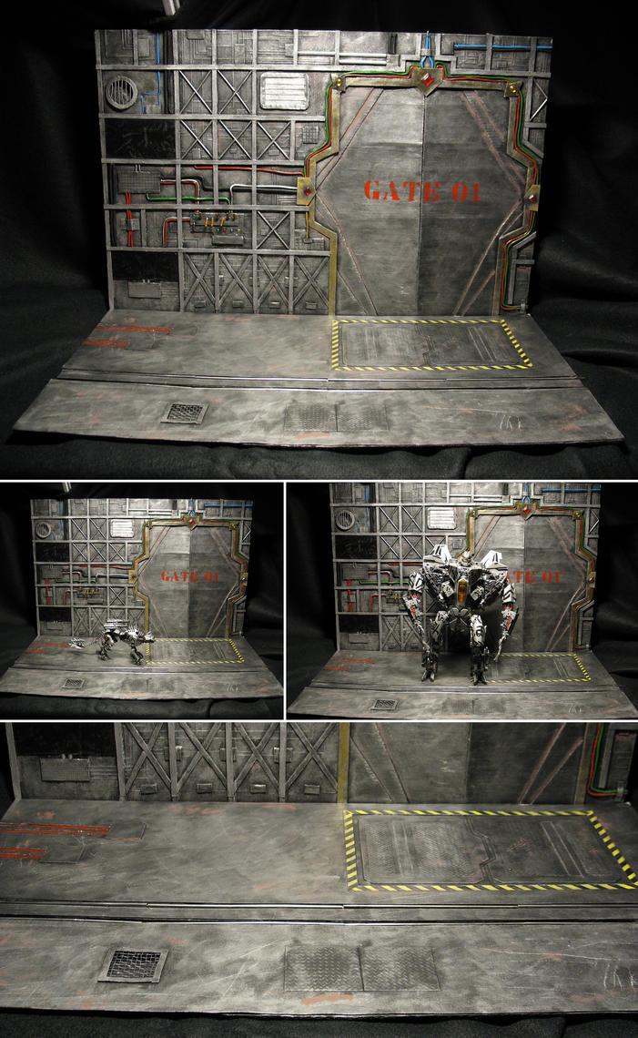 Mechanical Basement Diorama by PGwainbenn