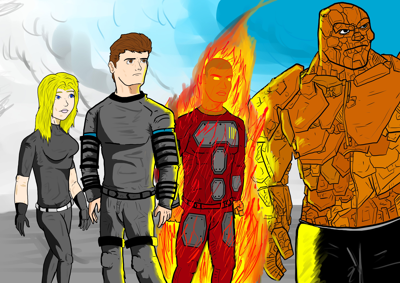 Fantastic Four (2015) by Razanul