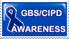 GBS CIPD Awareness stamp by imthinkingoutloud