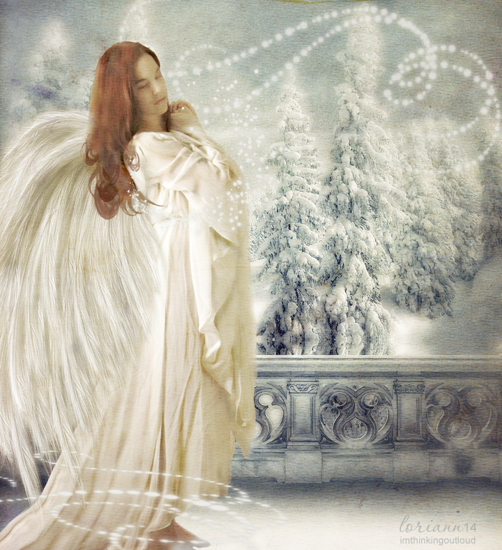 Winter Angel 2014 by imthinkingoutloud