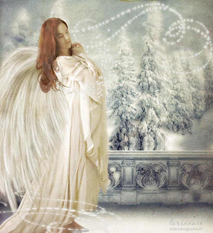 Winter Angel 2014 by imthinkingoutloud