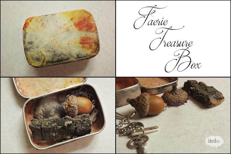 Faerie Treasure Box by imthinkingoutloud