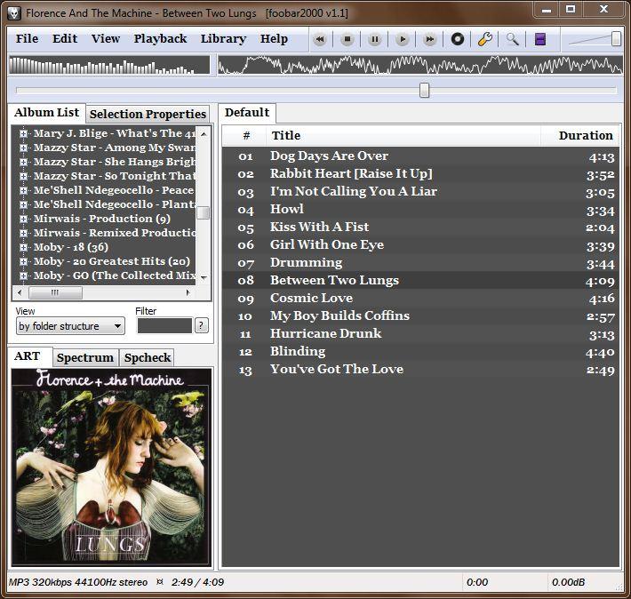 Foobar2000 Screenshot by shle896