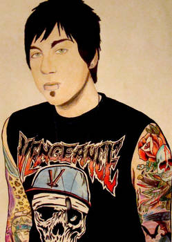 Zacky Vengeance Colored Pencil