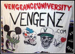 Vengeance University Flag