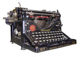 Underwood Typewriter by wilddoug