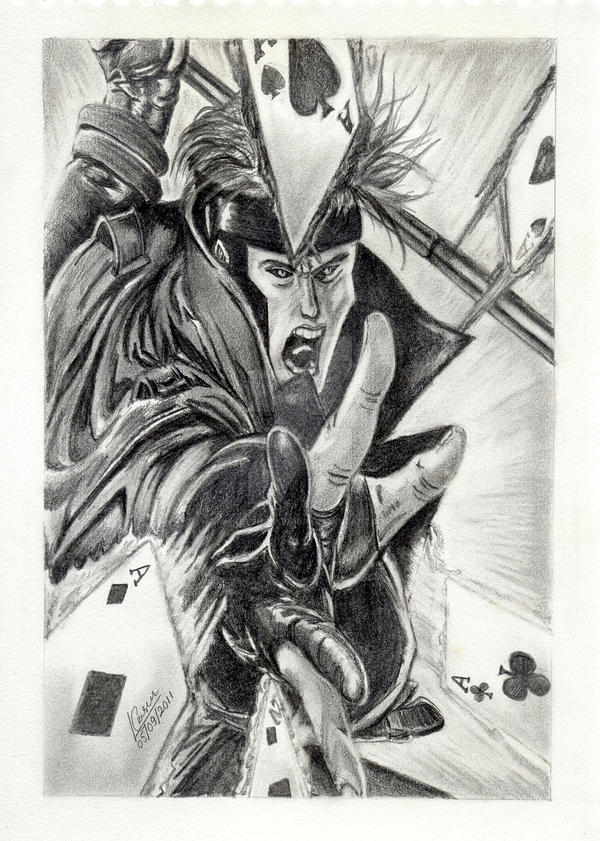 Gambit Drawing by MickeyTheSaviour on DeviantArt The Art Of Getting By Drawings