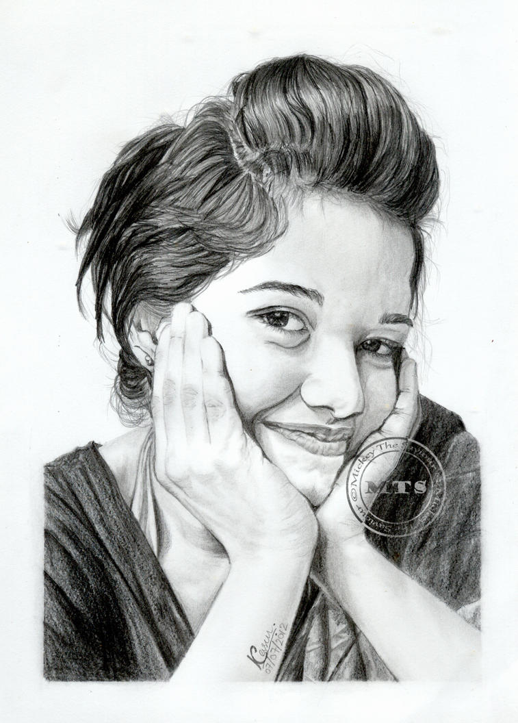 Portrait of Sarani by MickeyTheSaviour