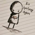 ItsHurtingAgain by HelloMushroomArt