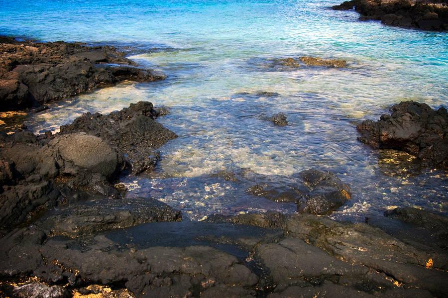 Hawaii Coast II by MetaAnomie
