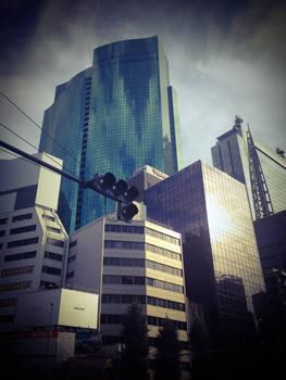 Tokyo Looking Up