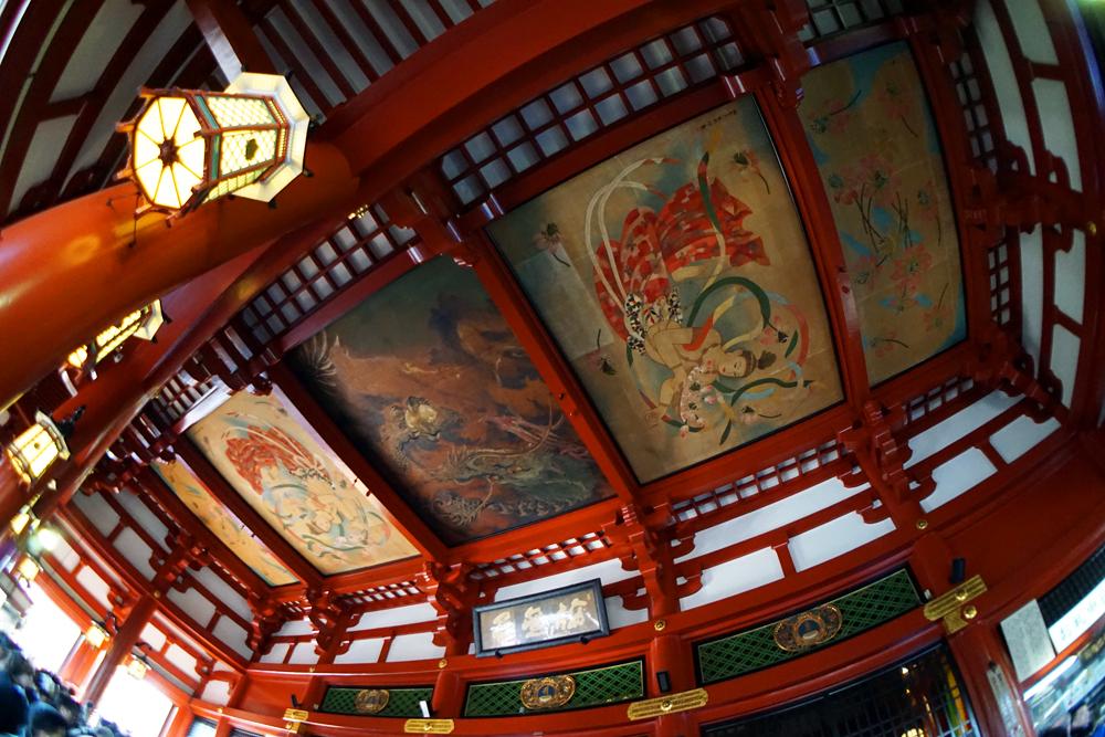 Painted Ceiling by MetaAnomie