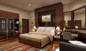 bedroom by wraspadi