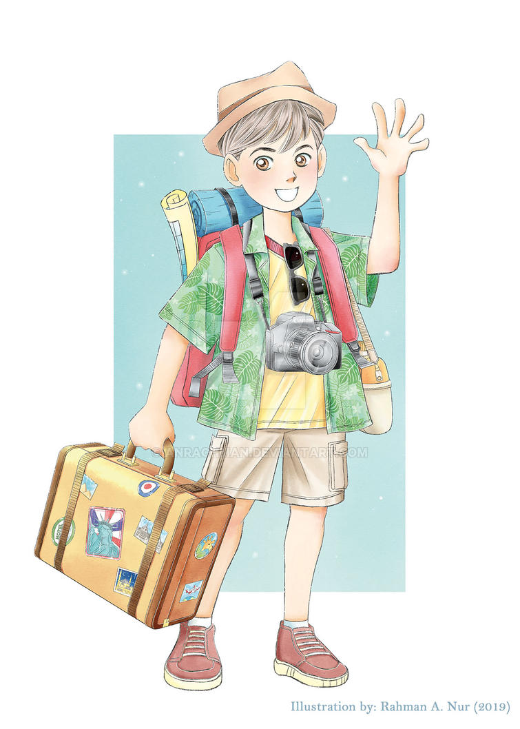 Let's Go Traveling by Anrachman
