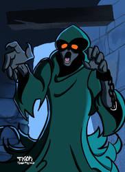 Scary Scooby #2: Phantom Shadow by TrickTownsend