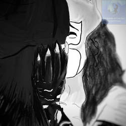 A Gotham Kiss #BatCat for @CatwomanGoddess