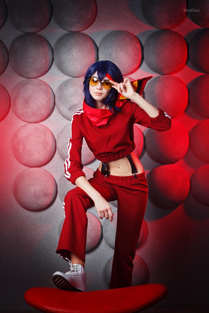 Matoi Ryuuko!  Deal with it. by AmiKaSwallow