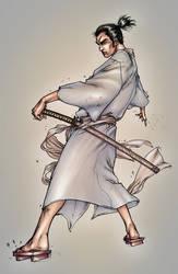 Samurai Jack by alexsollazzo