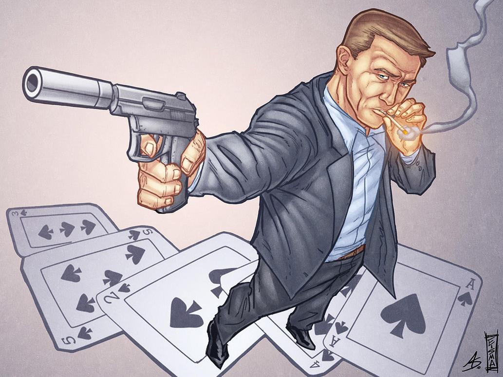 James Bond 007 by alexsollazzo