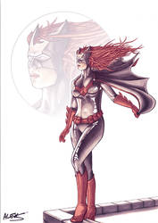 Batwoman by alexsollazzo