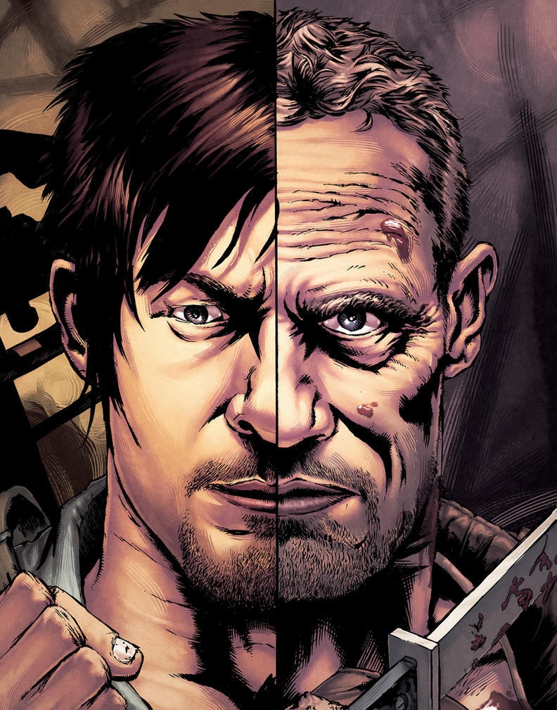 Merle and Daryl by alexsollazzo