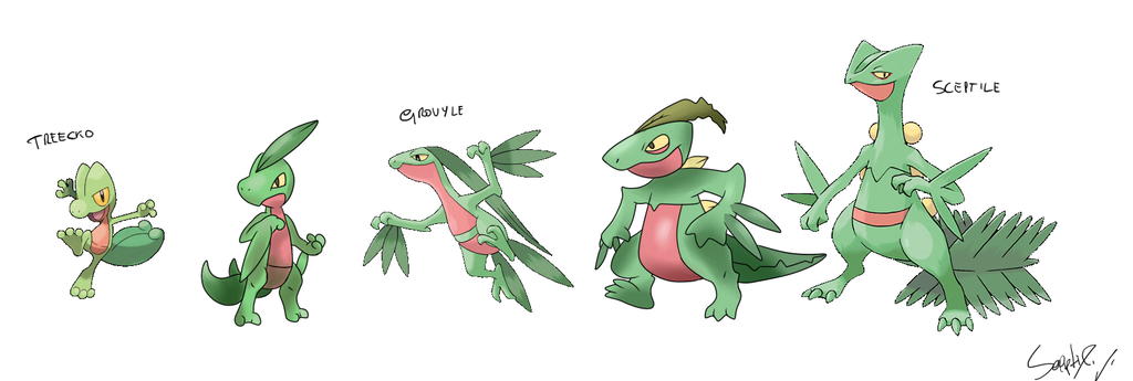 Intermediate Treecko a...
