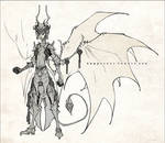 Demons and Other Ilk: Warrior King Asmodeus