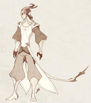 Demons and Other Ilk: Tierran Duelist Uniform