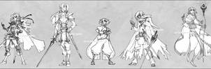 The Slayers - redesign -