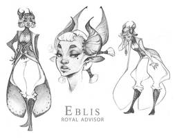Demons and Other Ilk: Advisor Eblis pt. 2