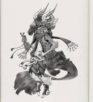 Full Body Commission - Endejester by deerlordhunter