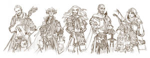 Fab Five - DnD Makeover - by deerlordhunter