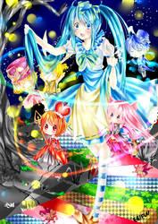 Vocaloid - Alice In Musicland by ebifuu