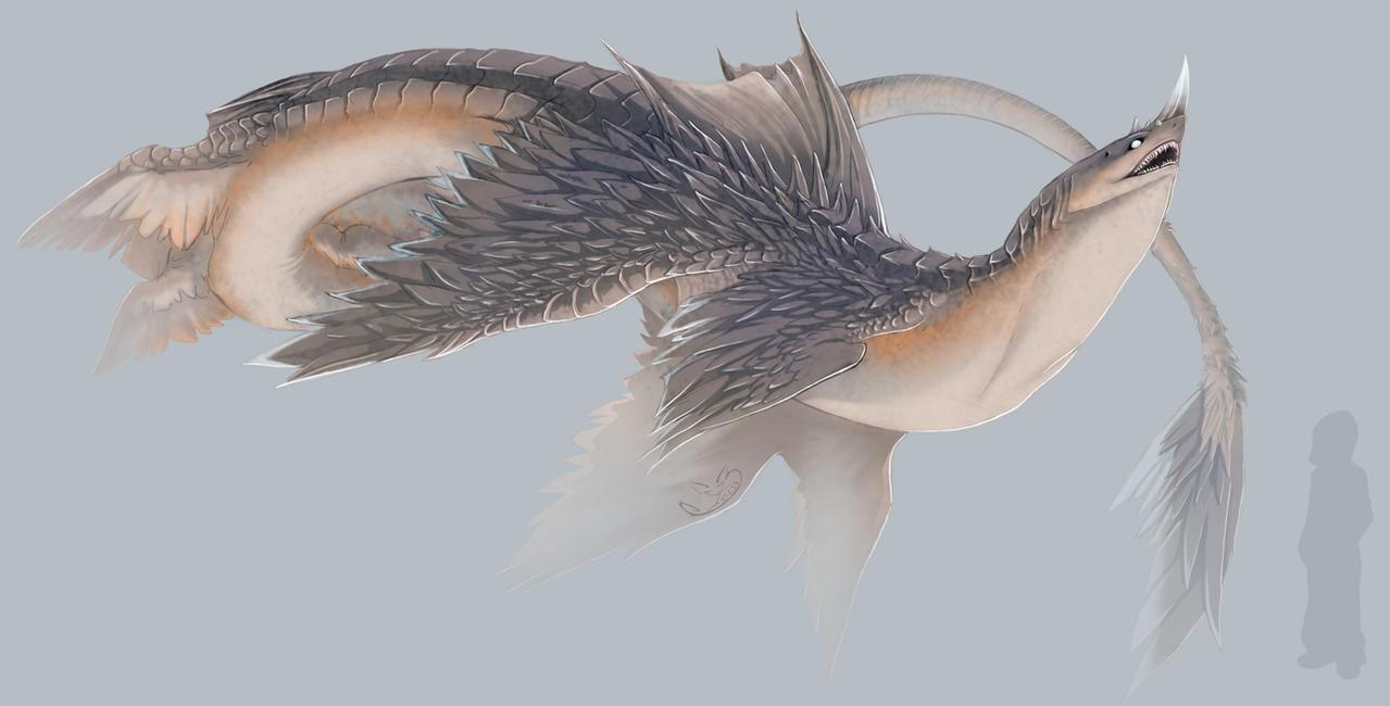 Unicorn Skyshark by greyanimebeast